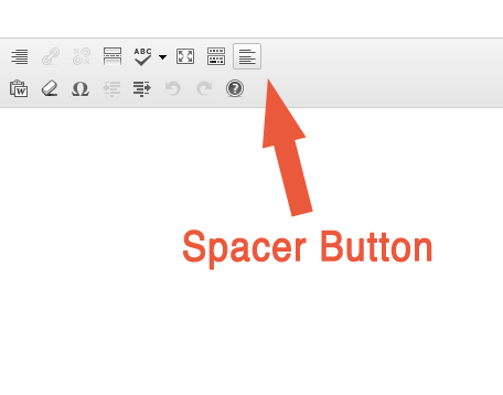 Spacer Button