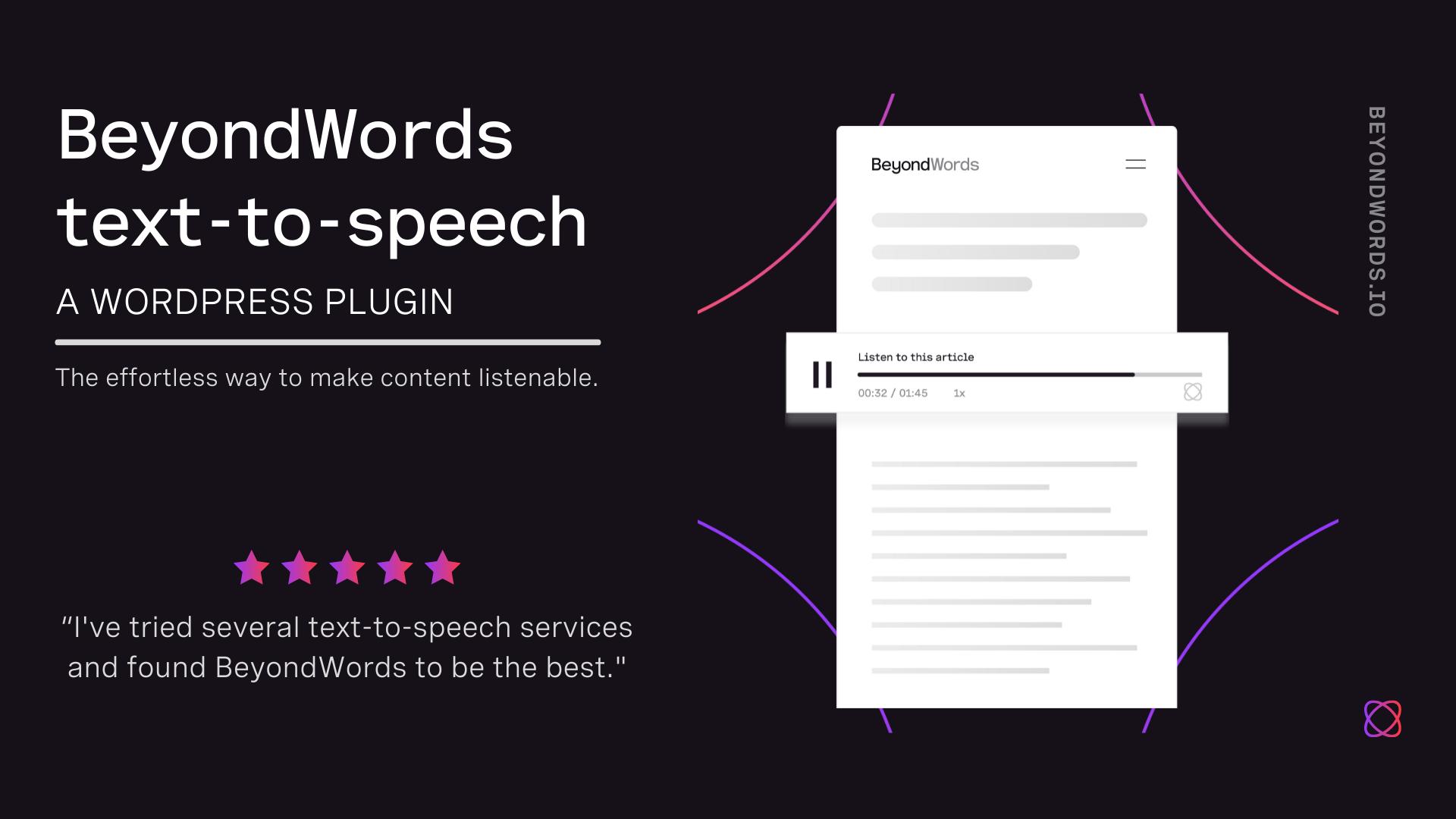 SpeechKit – WordPress plugin   WordPress org