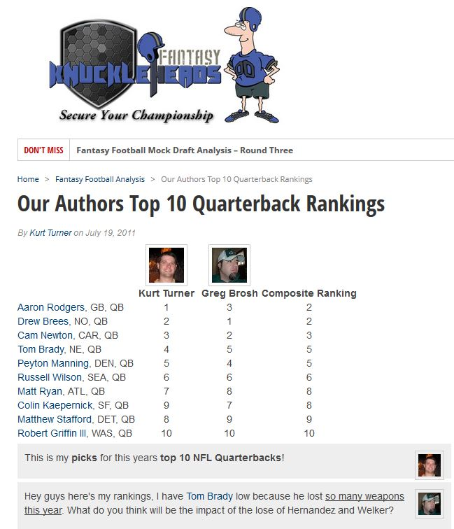 sports rankings and lists wordpress org