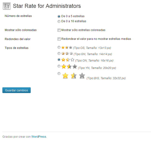 screenshot3.png Star Rate for Administrators viewed from the administation section
