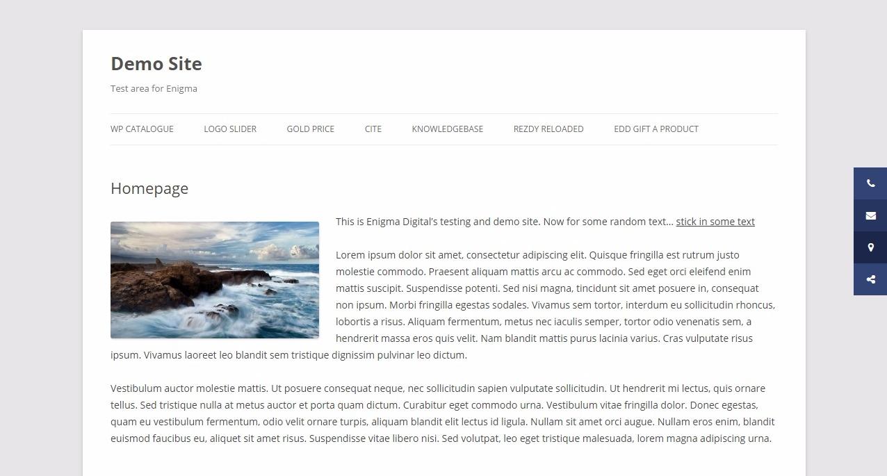 Sticky Side Buttons – WordPress plugin | WordPress org
