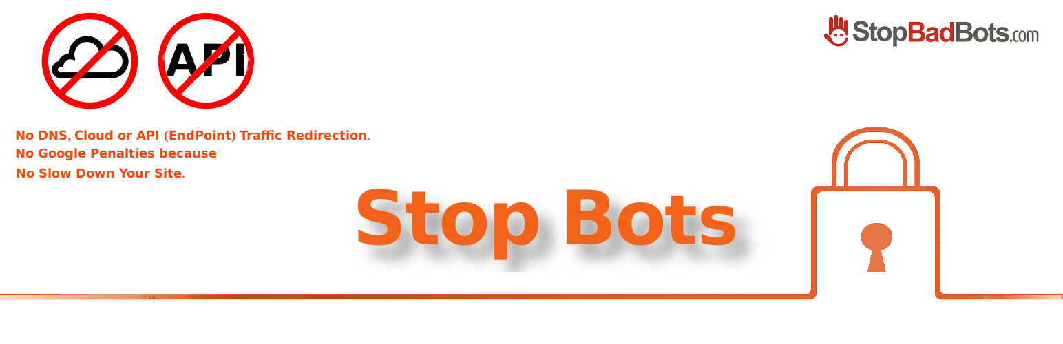 StopBadBots – WordPress plugin | WordPress org