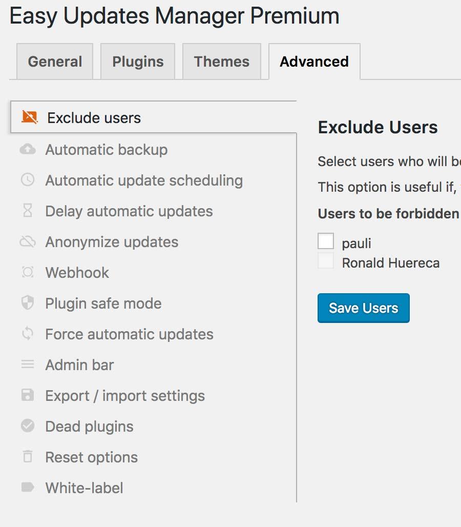 570+Easy Updates Manager – WordPress Plugin   WordPress.org Deutsch