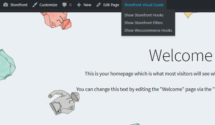 Storefront Visual Hook Guide Menu Closeup.