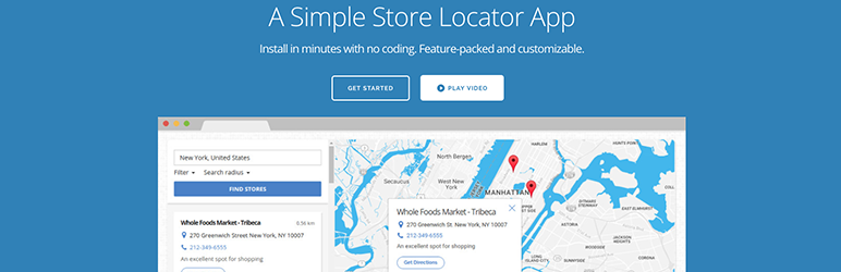 Storemapper for WordPress
