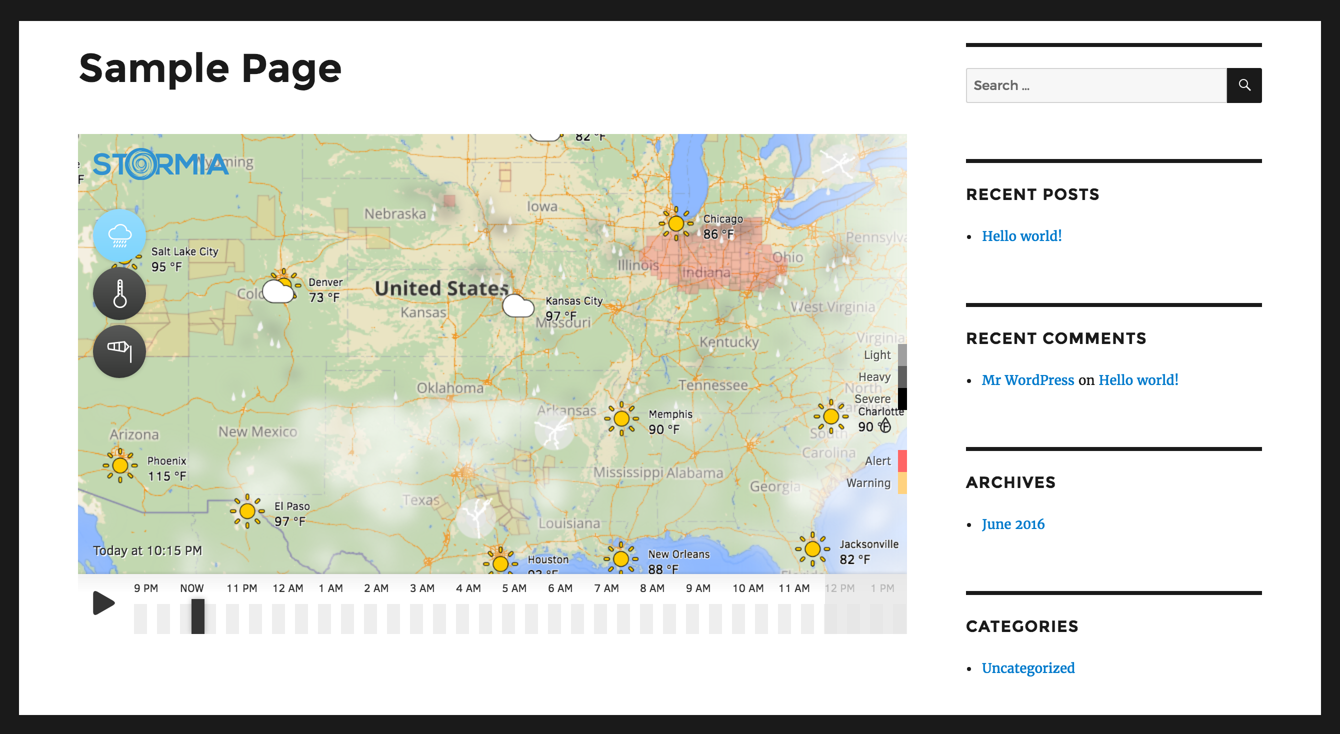 <p>Demo of the Stormia map on a WordPress page.</p>