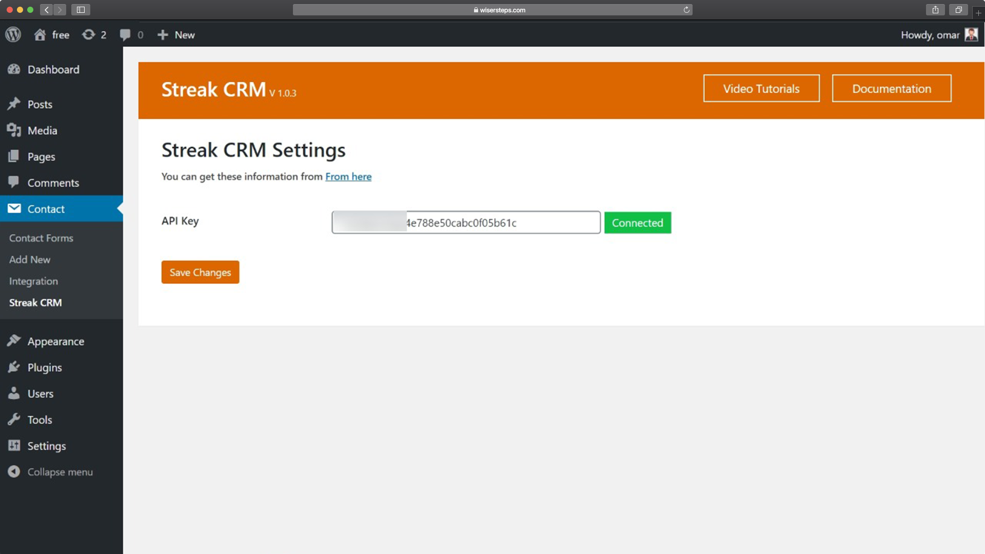 Streak CRM For Gmail For Contact Form 7 – WordPress Plugin