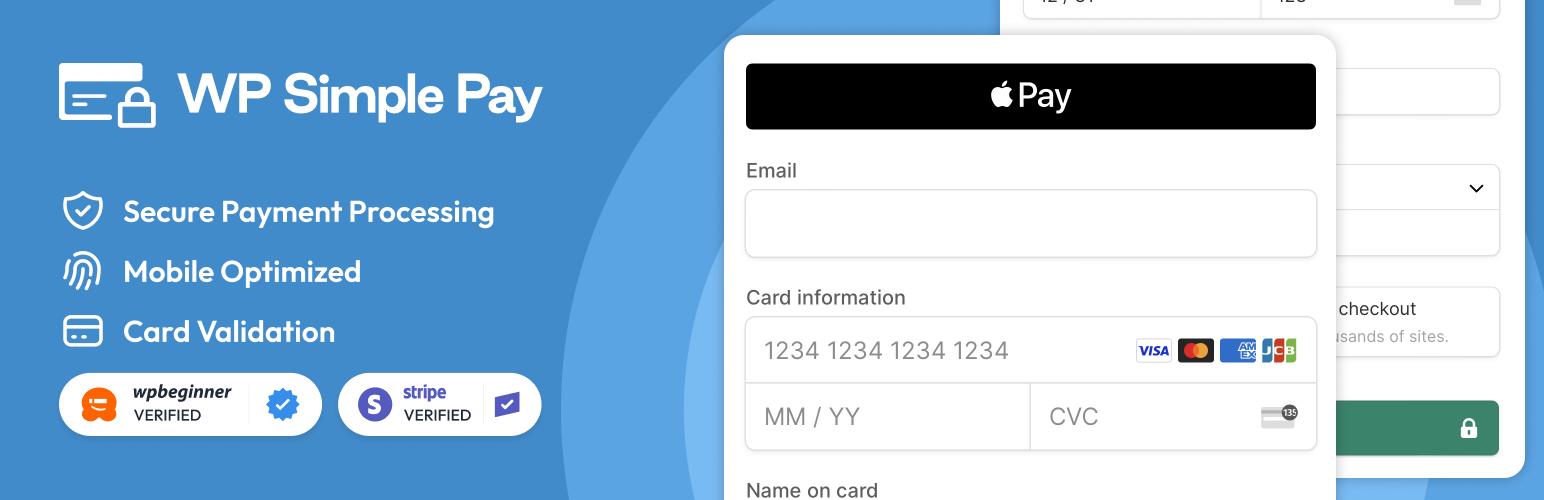 Stripe Payments for WordPress – WP Simple Pay – WordPress plugin