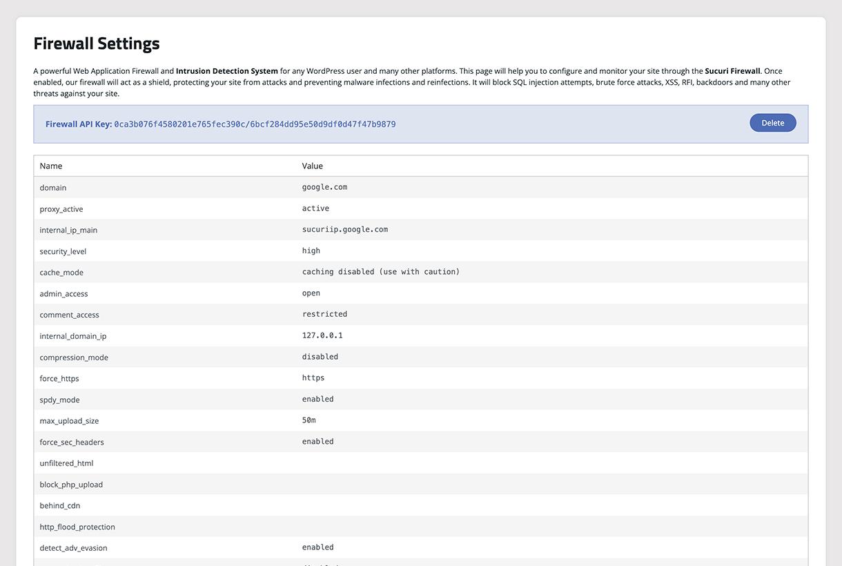 Sucuri WordPress plugin for designers