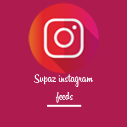 Wordpress Instagram Feed Plugin by Supazthemes