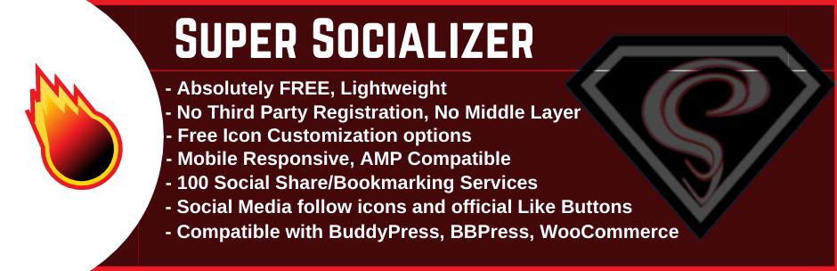 WordPress Social Share, Social Login and Social Comments Plugin – Super Socializer