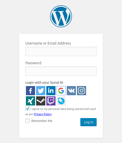 WordPress Social Share, Social Login and Social Comments