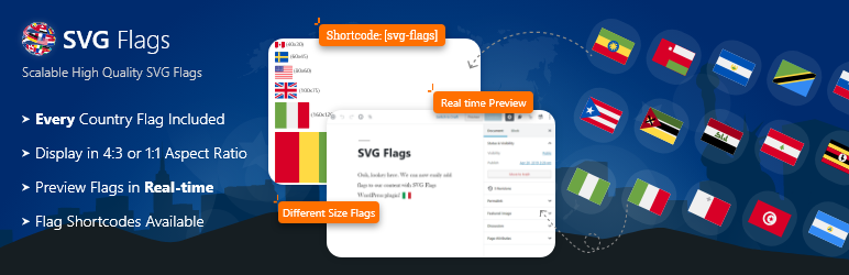 SVG Flags – Beautiful Scalable Country Flags