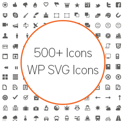 Wp Svg Icons Extensio Del Wordpress Wordpress Org Catala