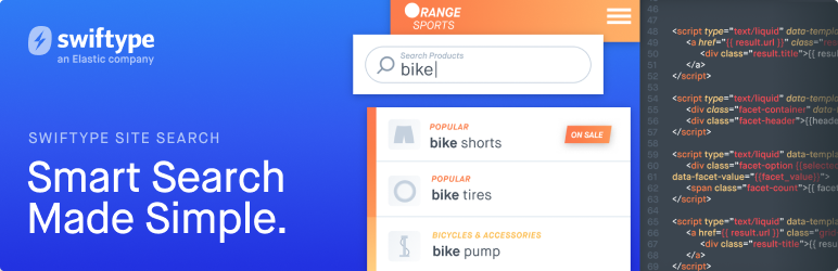 Swiftype Site Search Plugin for WordPress – WordPress plugin