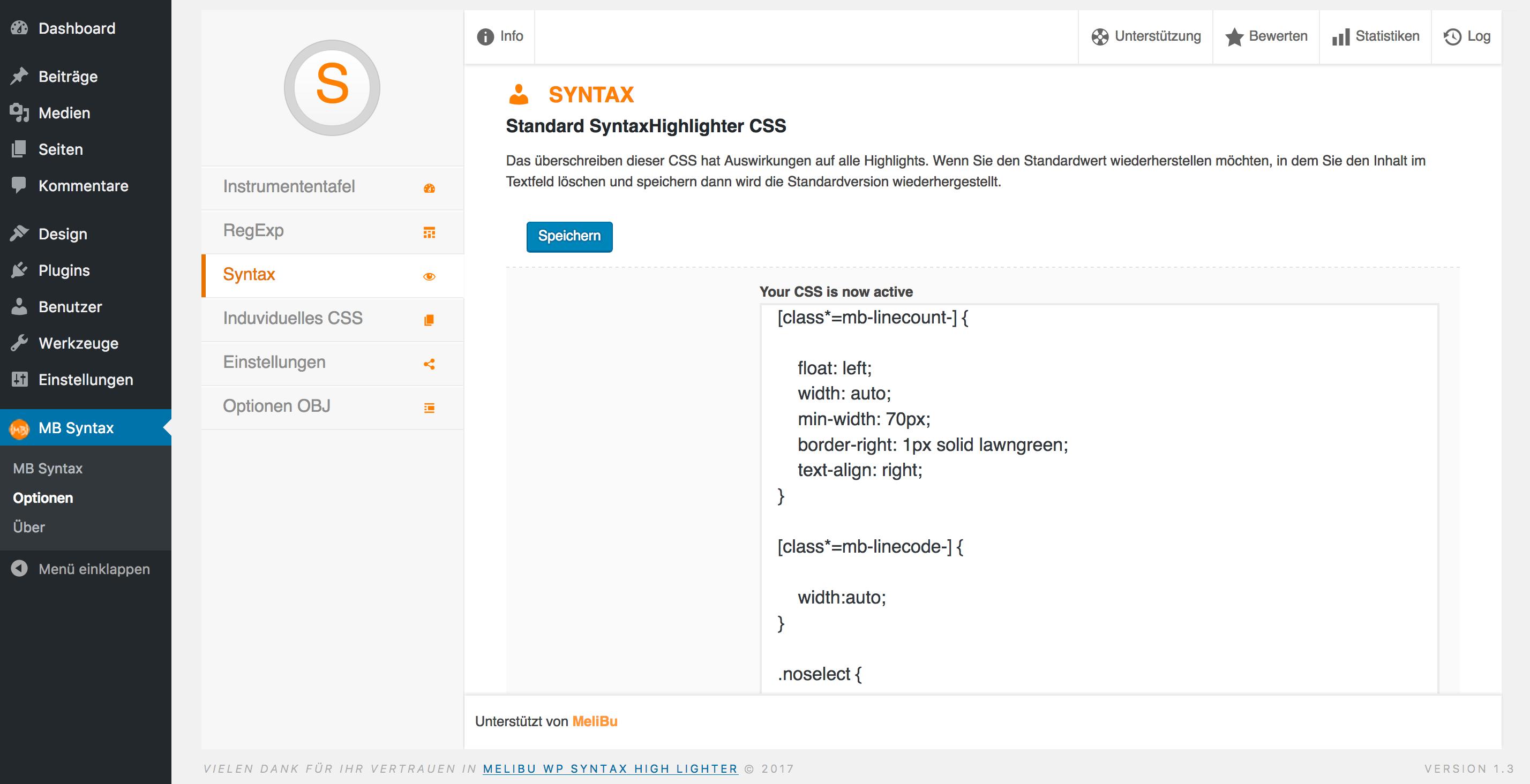 CSS access