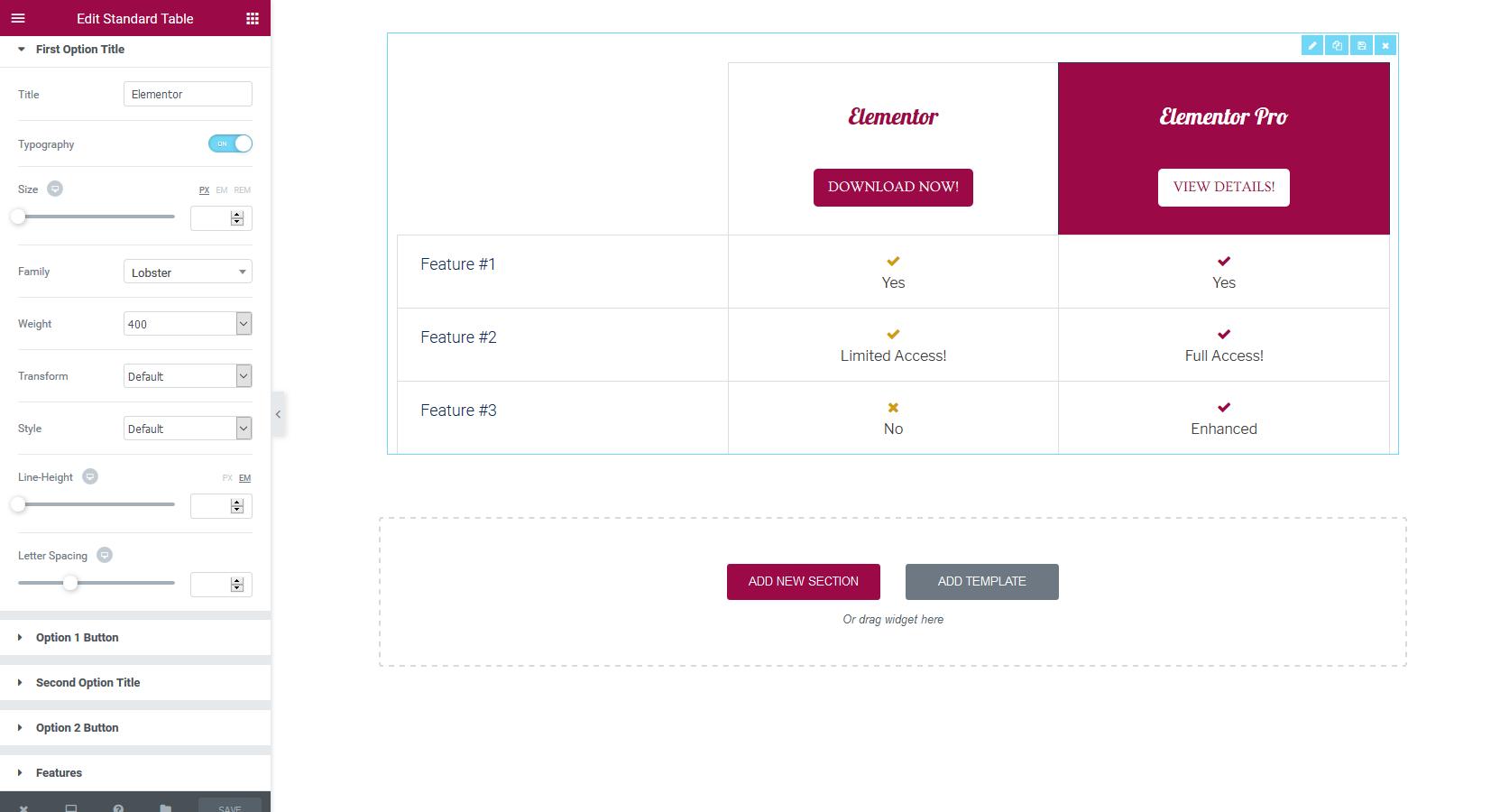 Tables for elementor wordpress plugins for Table design wordpress plugin