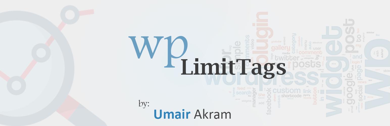 Wp LimitTags