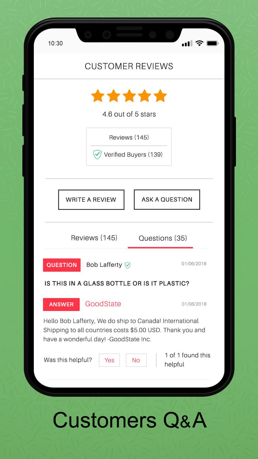 WooCommerce Q&A