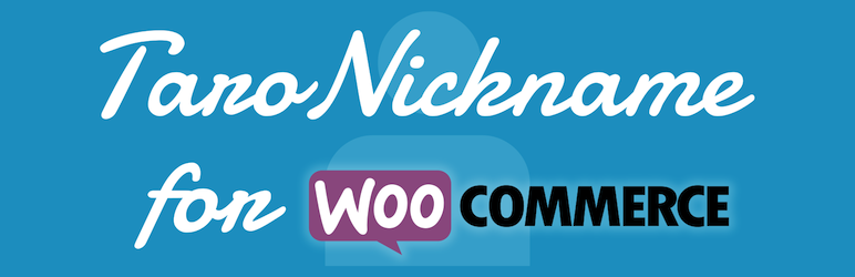 Taro Nickname for Woo