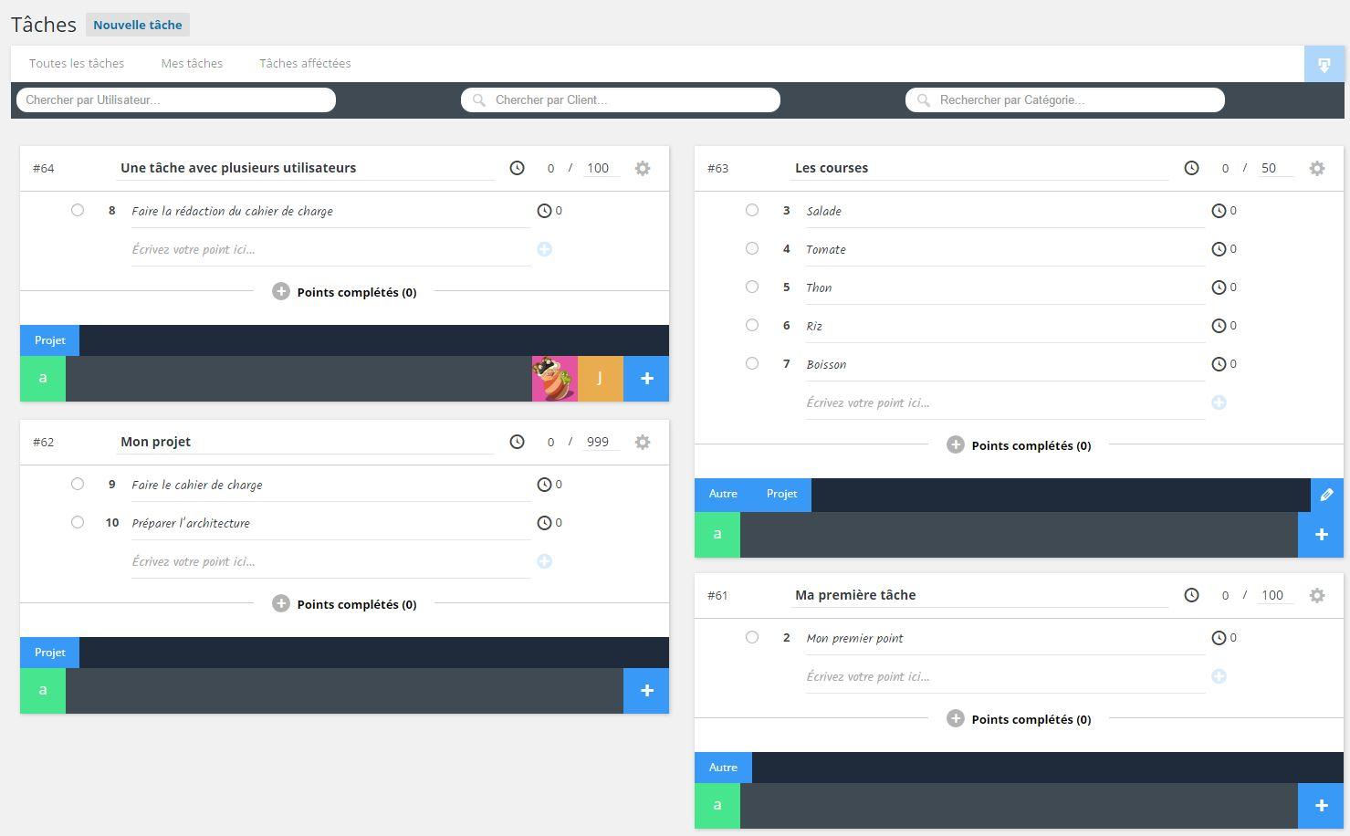 Task Manager – WordPress plugin | WordPress org