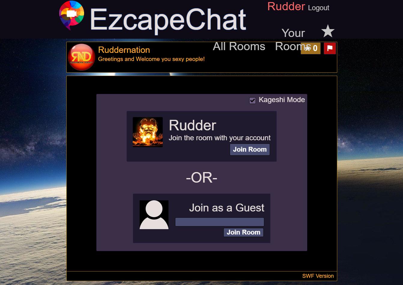 Flash Video Chat – Ezcape Chat
