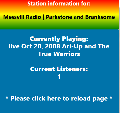 TE Icecast 2 Station Information
