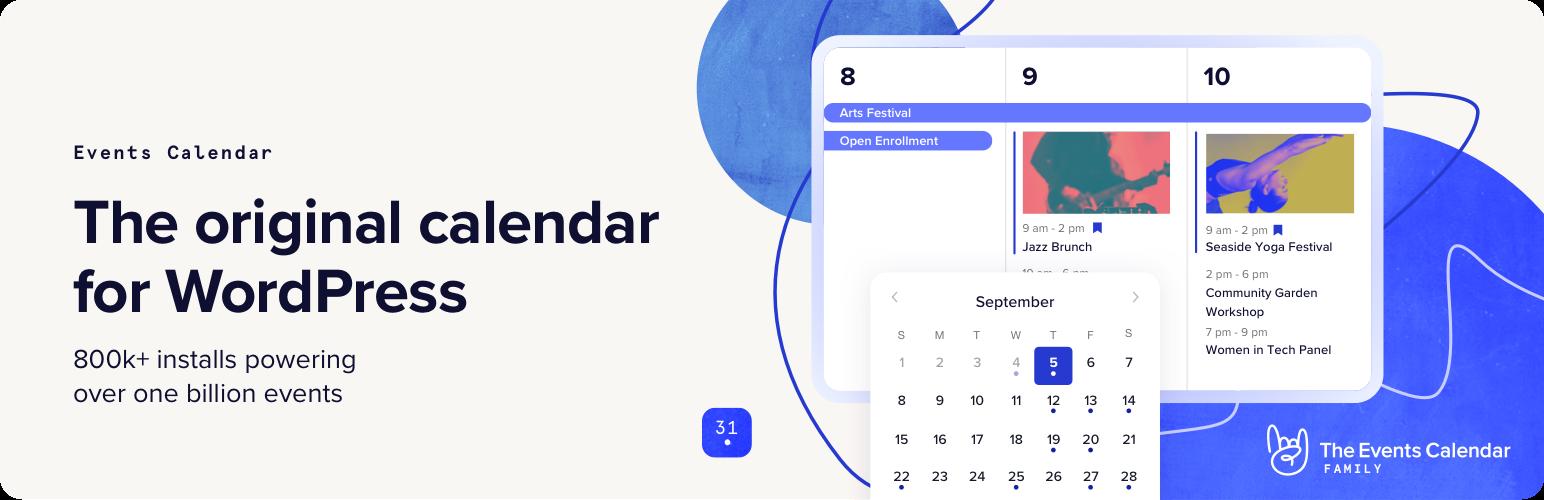 the events calendar wordpress org