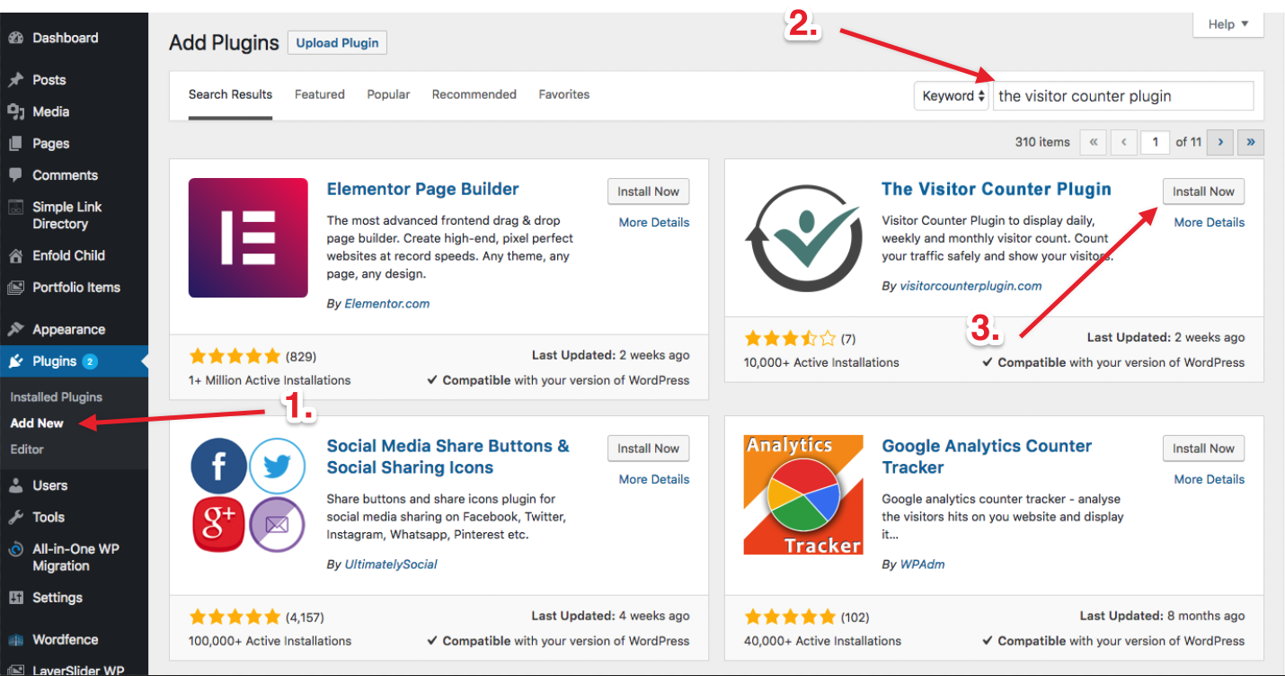 screenshot-1.png - How to install the plugin using search.