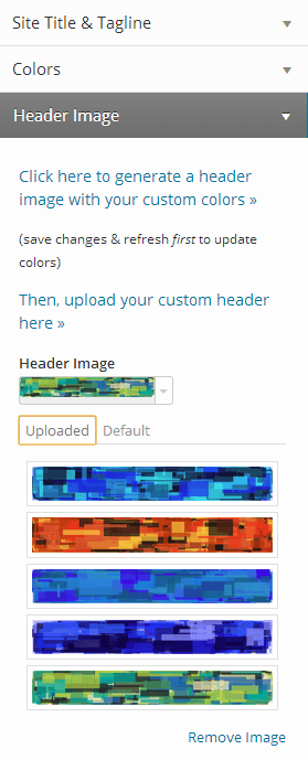 Custom header integration, with some generated headers.