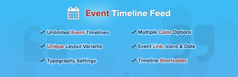 Event Timeline Feed