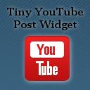 Tiny YouTube Post Widget logo