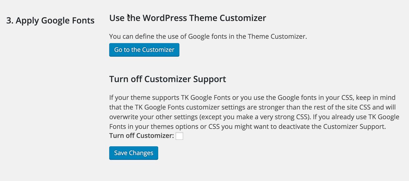 tk-google-fonts screenshot 4