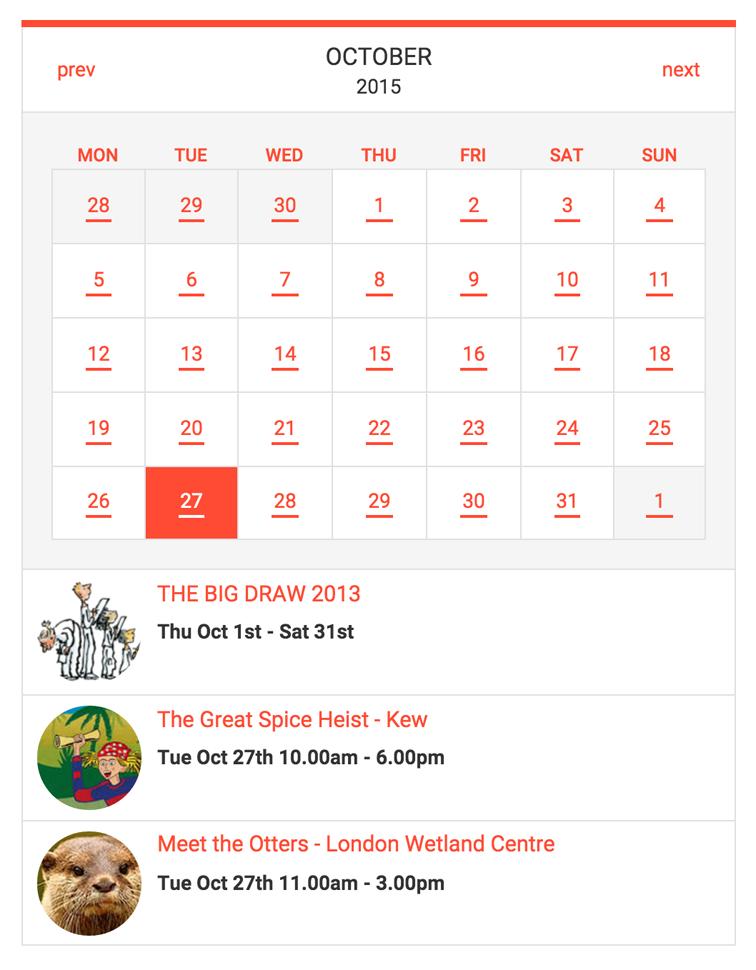 calendar small