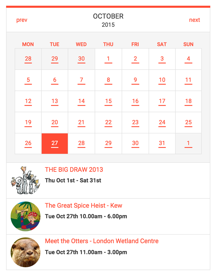 Tockify Events Calendar Wordpress Plugin Wordpress Org