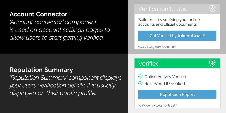 Token of Trust Identity Verification
