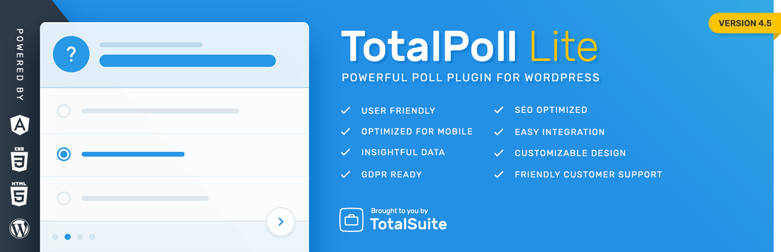 Total Poll Lite