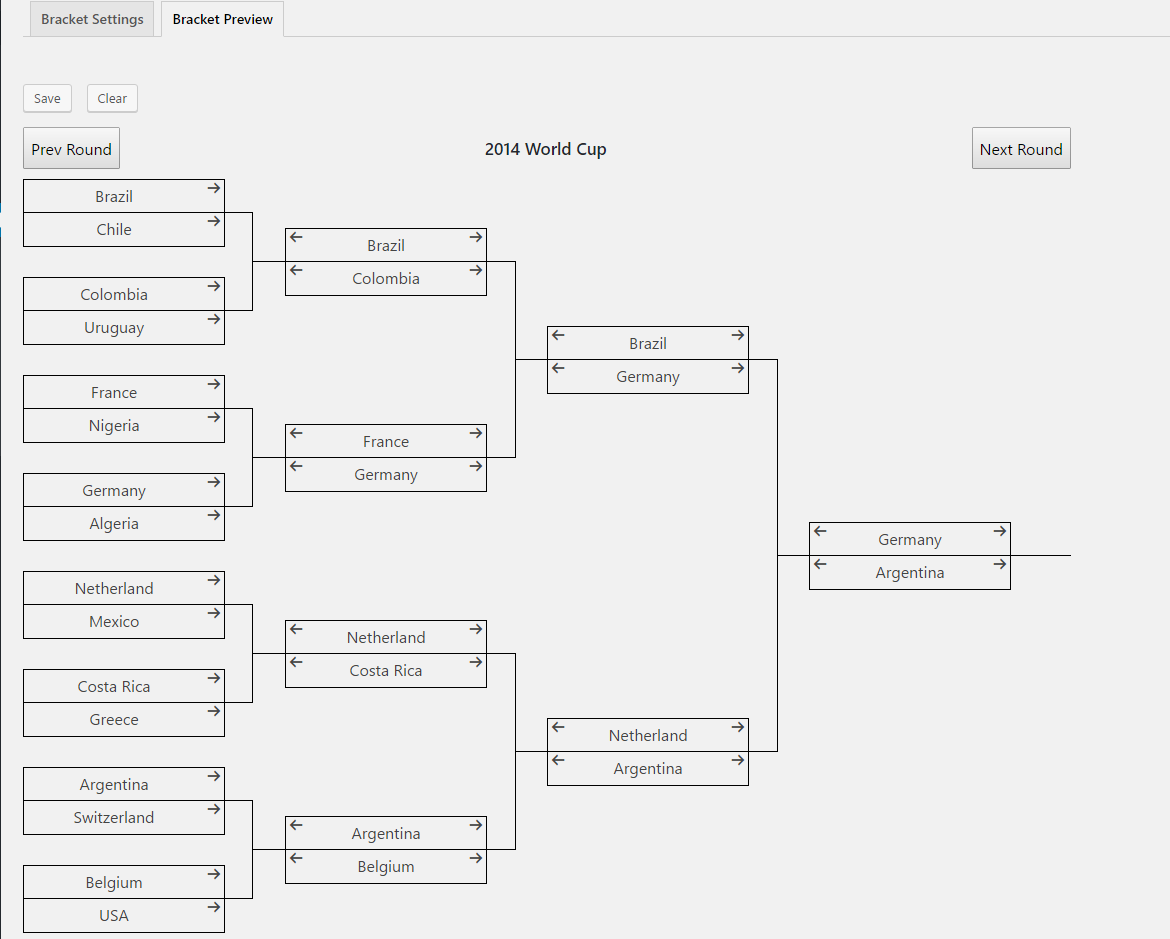 tournament bracket generator wordpress org