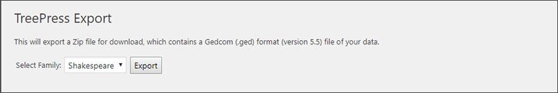 Export data (Premium version)