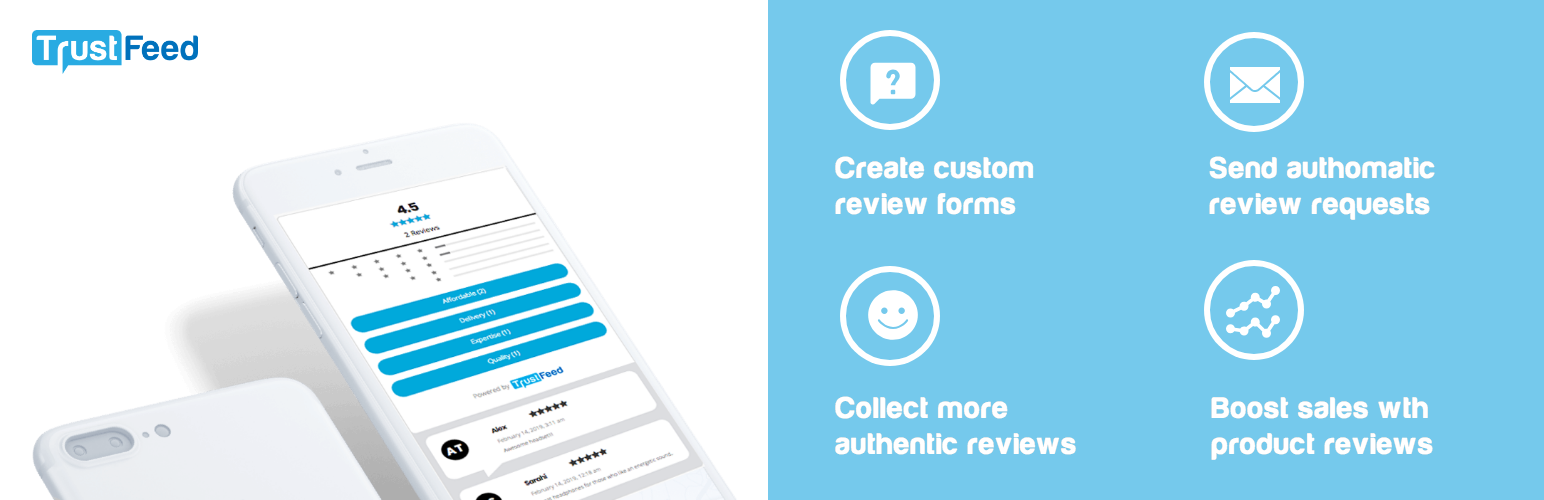 TrustFeed Reviews and Customer Feedback for WooCommerce