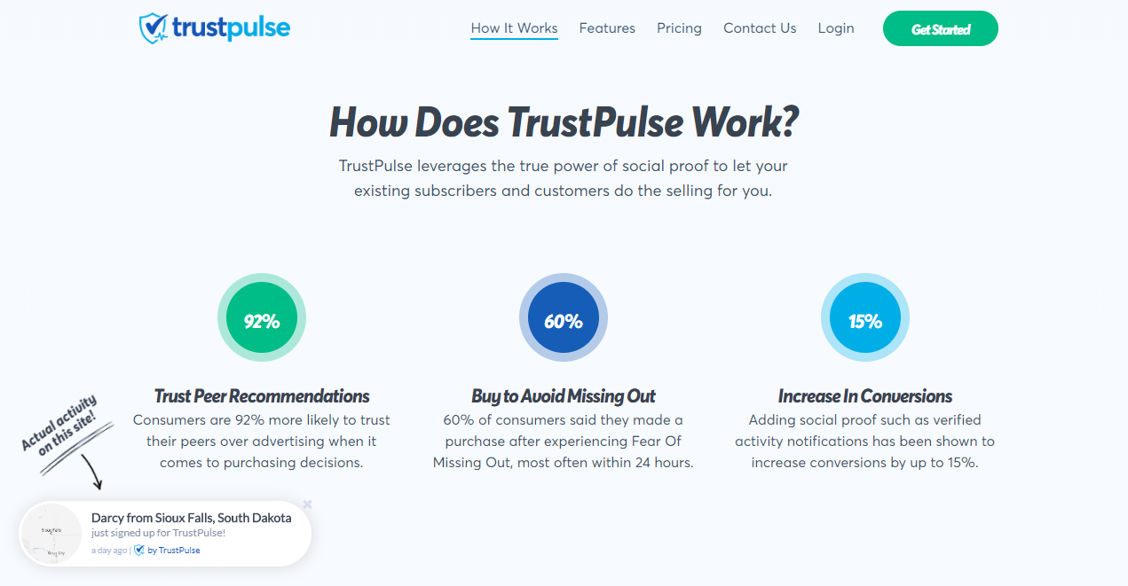 The TrustPulse FOMO plugin allows you to control how and where your social proof notifications load on your website.