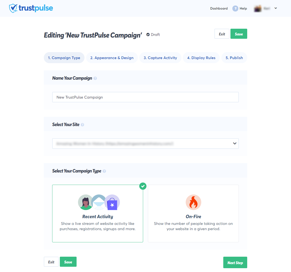 Create and customize your FOMO social proof notifications with our builder.