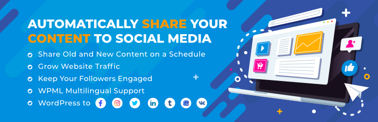 Revive Old Posts – Social Media Auto Post and Scheduling Plugin