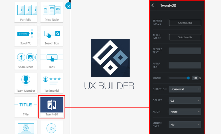 UX Builder element.