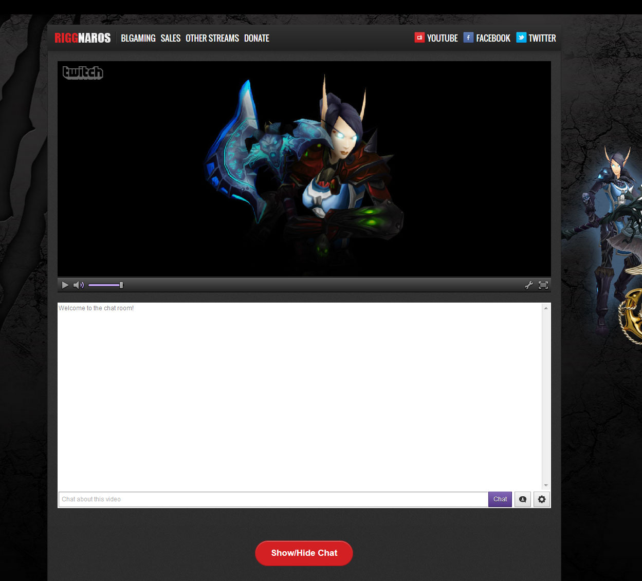 twitch-tv-embed-suite screenshot 3