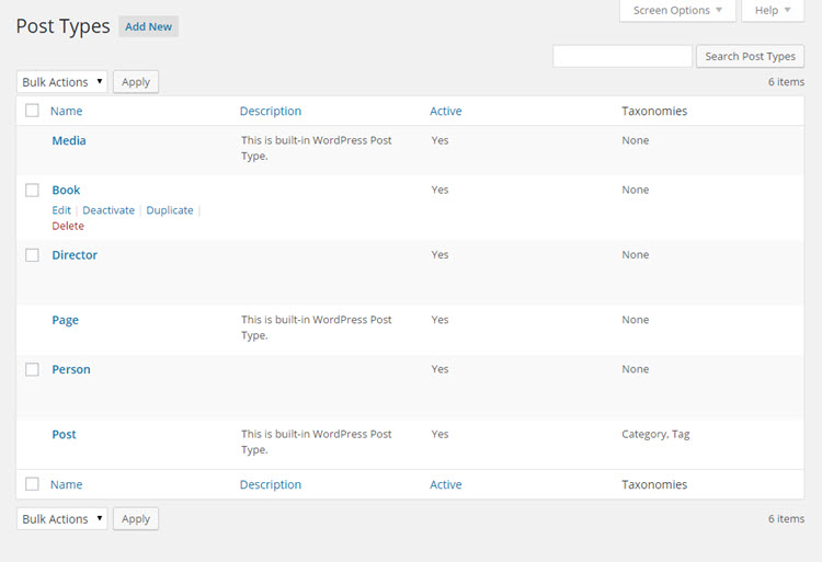Toolset Types – Custom Post Types, Custom Fields and Taxonomies