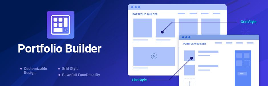 WordPress Portfolio Builder – Portfolio Gallery