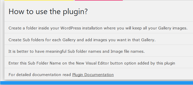 How to use plugin?