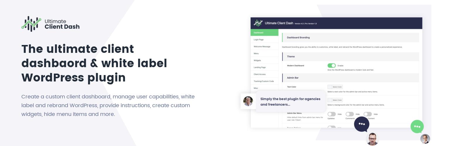 Ultimate Client Dash – WordPress plugin | WordPress org