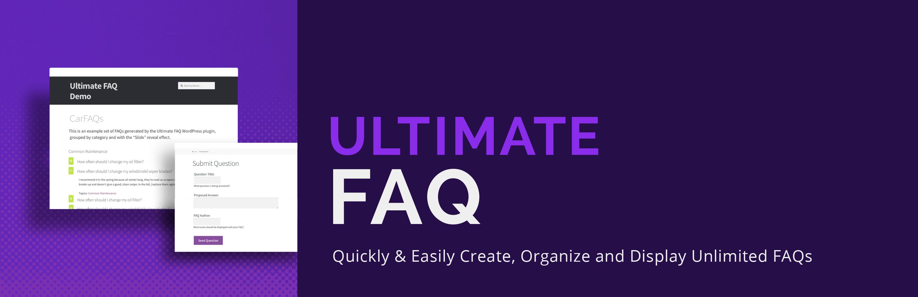 Ultimate FAQ – WordPress plugin | WordPress org